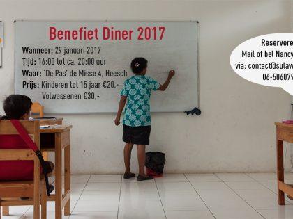 Benefiet Diner 2017